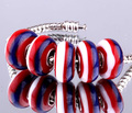 silver plated stamp 925 new DIY Violet  Murano Glass Beads Fit Europe pandoras Charm Bracelets necklaces & pendants Fit for you