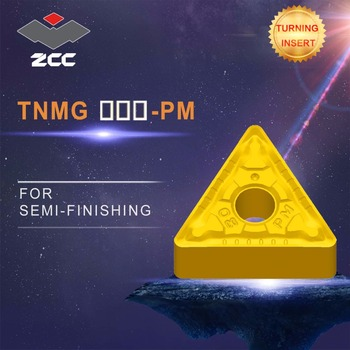 cnc inserts 10pcs/lot TNMG220412-PM TNMG220416-PM lathe cutting tools coated cemented carbide turning inserts steel finishing