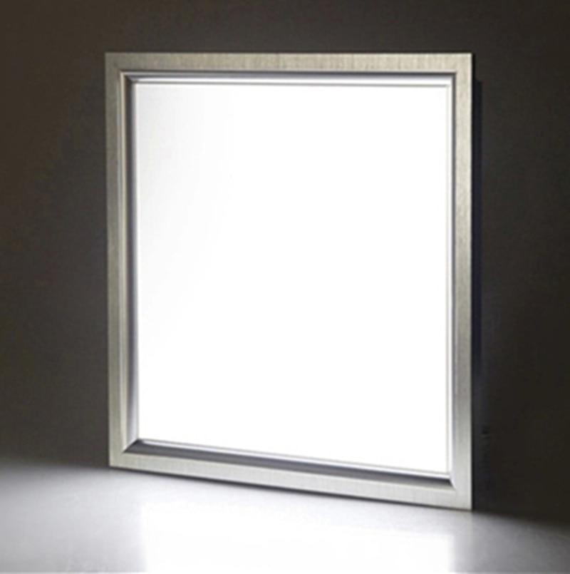 ФОТО 300*300mm led panel light  embedded 8w 10w 12w LED kitchen lights bedroom lamp office lighting LED integrated ceiling lights