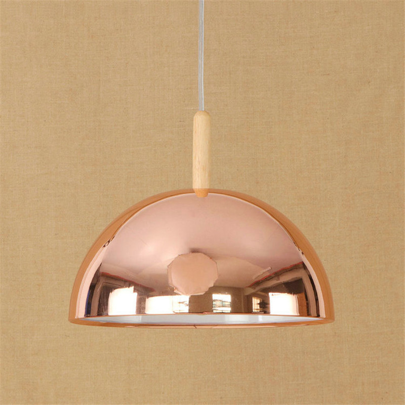 Nordic Postmodern Restaurant Chandelier Bar Coffee Shop Living Room Bedroom Iron Simple Plating Rose Gold Lamp Free Shipping