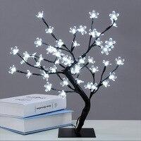 48 lights simulationXmas LED Cherry Blossom Tree Light New Year Wedding Luminaria Decorative Tree Branches Lamp Outdoor Lighting