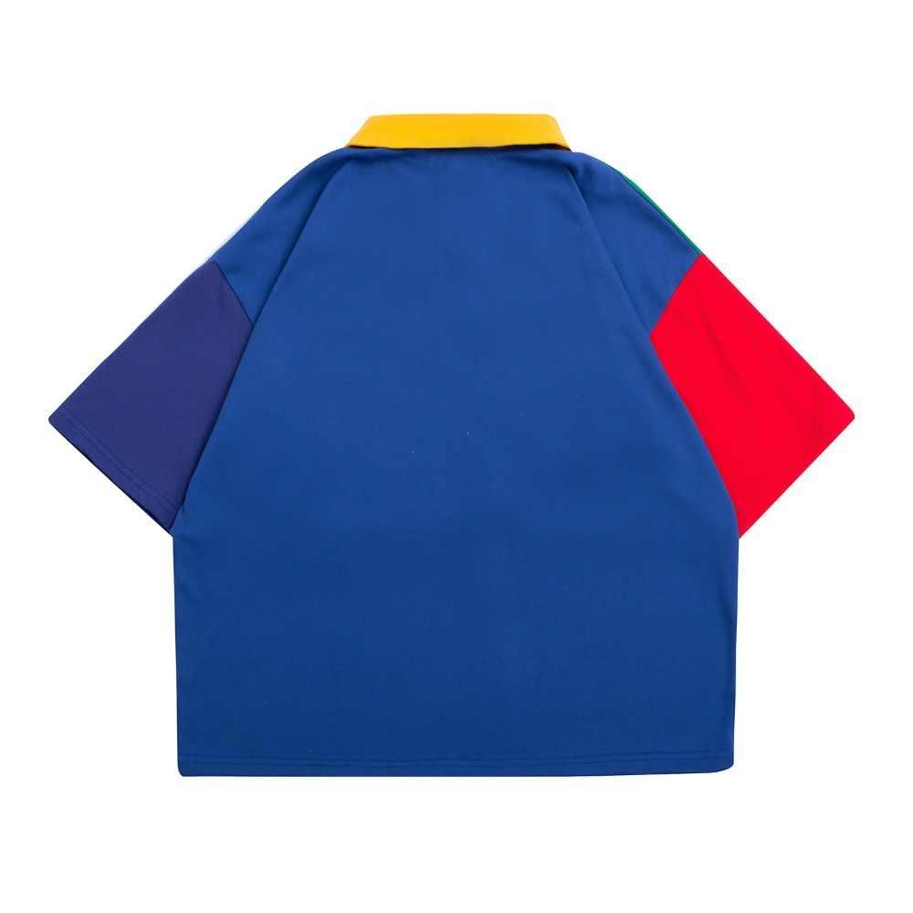 高品質綿 Poloshirt オリジナルデザインカジュアル夏新女性ポロシャツスペル色刺繍シャツは半袖