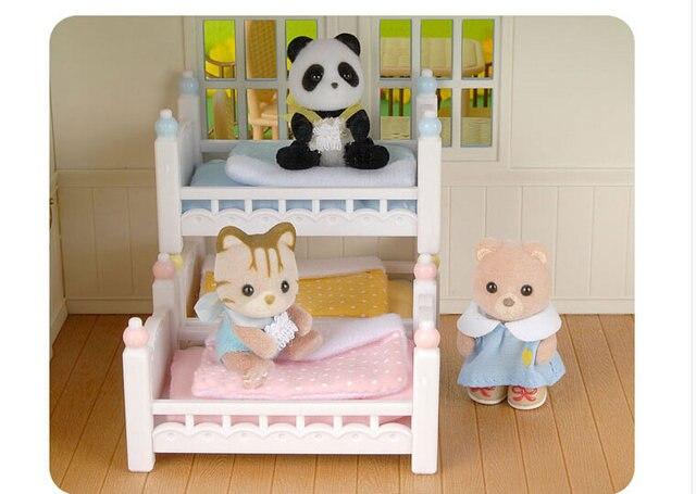 Tienda Online Genuino sylvanian familias mini extraíble bebé litera ...