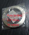 Pure Nickel Strip for Scientific research,18650 battery welding   Size:0.2*10mm