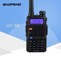 """רדיו ווקי טוקי (1 PCS) Baofeng UV5R Ham שני הדרך רדיו טוקי ווקי Dual-Band מקמ""""ש (שחור) (1)"""