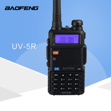 (1 STKS) Baofeng UV5R Ham Two Way Radio walkietalkie Dual-Band Transceiver (zwart)