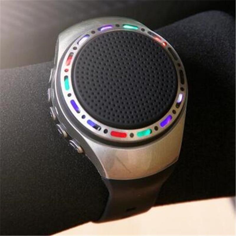 ec69ae1d8f8d 10 unids lote U6 inalámbrica pulsera Bass Altavoz Bluetooth reloj  inteligente reproductor de música llamada jugando Radio FM  auto-temporizador PK b20 B90
