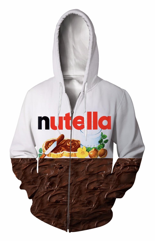 Zip-Up Hoodie 3d Print Soft peanut butter Clothing Women Men Tops Hooded Casual Zipper Sweatshirt Outfits Coats Sweat factory