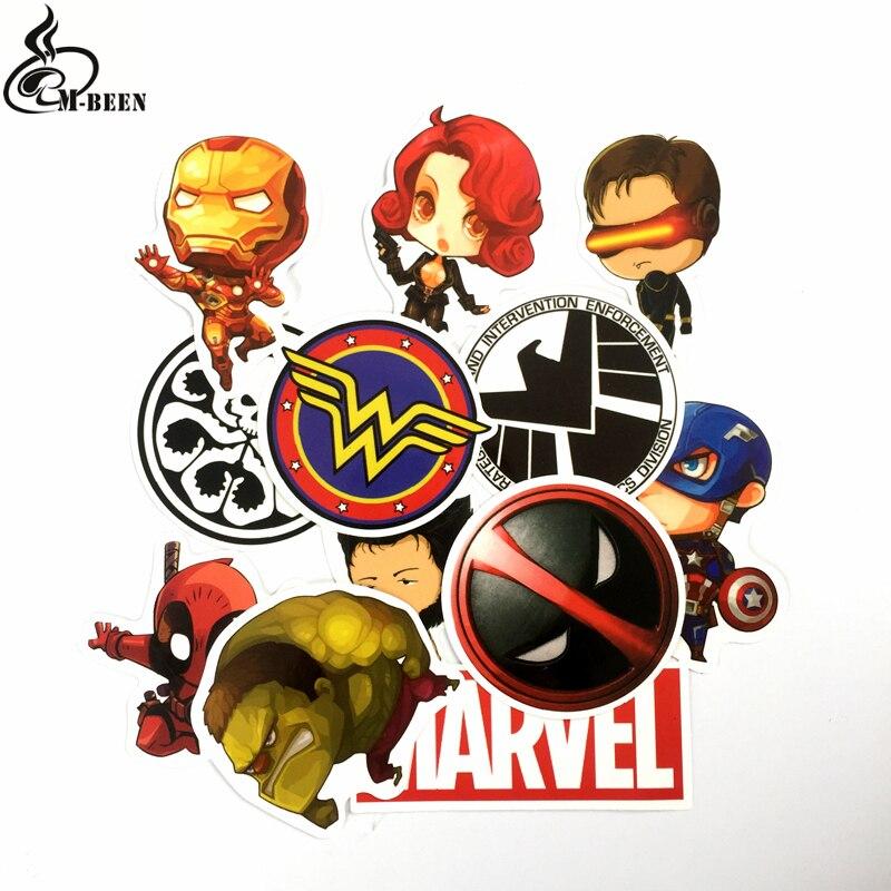 Fallout Deadpool Comic  Vinyl decal sticker Marvel Videogame