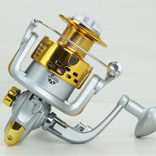 купить Yumoshi SA1000 - 7000 6BB Fishing Reel Fly Fishing Reel Carp Feeder Spinning Fishing Reels Carretilhas de pesca Moulinet molinet по цене 636.33 рублей