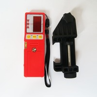 Free Shipping Laser detector with Clamp Laser receiver suitable for laser level rangefinder Outdoor Receiver for RED lines