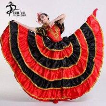 Взрослые дамы испанский сеньорита нарядное платье Костюмы для фламенко костюм танцовщицы Великобритании Размеры 6-24/фламенко платье/испанский Танцевальный костюм