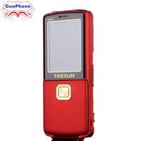Original TKEXUN 8800i Flip Phone Dual Sim Camera MP3 MP4 Dual Flashlight Real Vibration Magic Voice 2.4 Inch Luxury Cell Phone