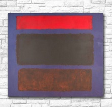 Abstract oil painting Mark Rothko 1960 Canvas for Home Decor Modern No Frame handmade Oil Painting
