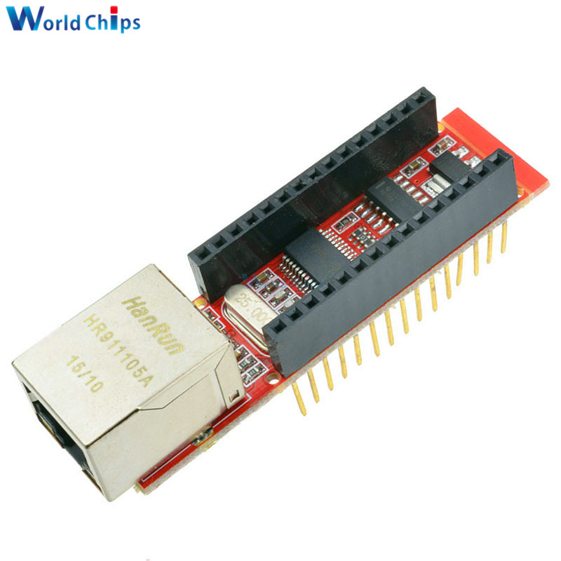 Pcs enc j ethernet shield v for arduino nano