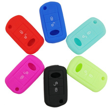 100pcs 2 Buttons or 3 Buttons Silicone Car Key Case Cover For Landrover Freelander Evoque Discovery LR3 LR4