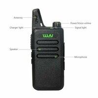 מכשיר הקשר 2pcs מיני שני הדרך רדיו כף יד KD-C1 Portable מכשיר הקשר C1 אלחוטי רדיו משדר HF WLN KD-C2 Ham Radio Comunicador (2)