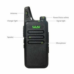 Image 2 - 2Pcs Mini Two Way Radio Handheld Kd C1 Tragbare Walkie Talkie C1 Drahtlose Radio Transceiver HF WLN KD C2 Ham Radio comunicador