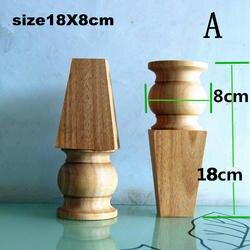Деревянные ножки для шкафа диван мебель для ног ноги (A855)