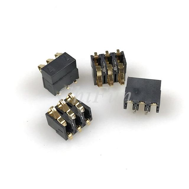 200 stücke/77 batterie 3 p frühling typ batterie stecker handy batterie kontaktieren höhe 7,7 BC-4-3P