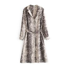 Fashion Women blouse femme 2019 new snakeskin print kimono ethnic style beach long cardigan dinner boho