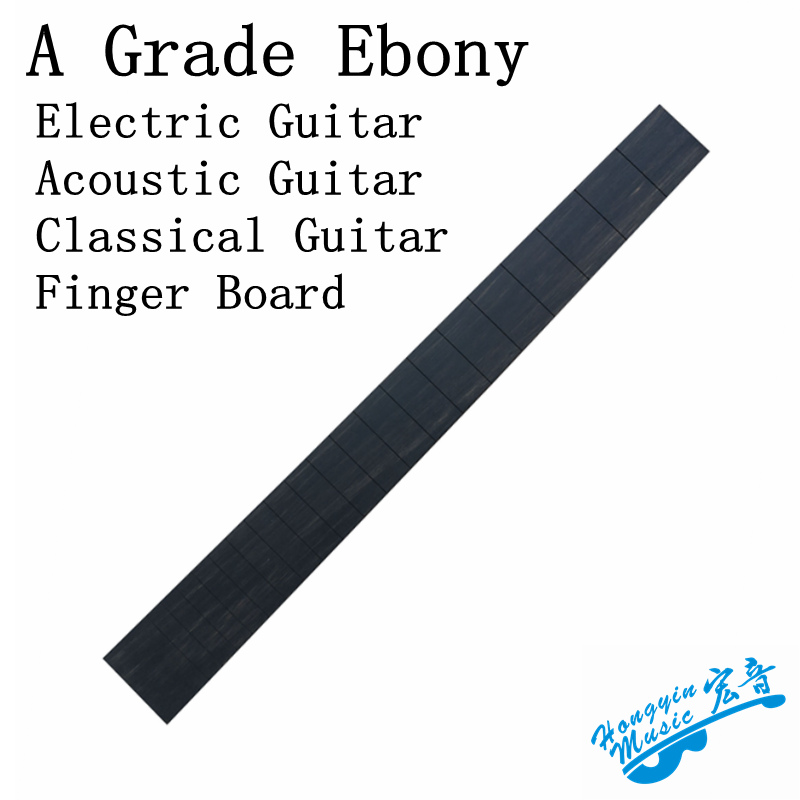 A Grade African Ebony Fingerboard For Acoustic Guitar Electric Guitar Classical Guitar Semi-finished Fingerboard Material