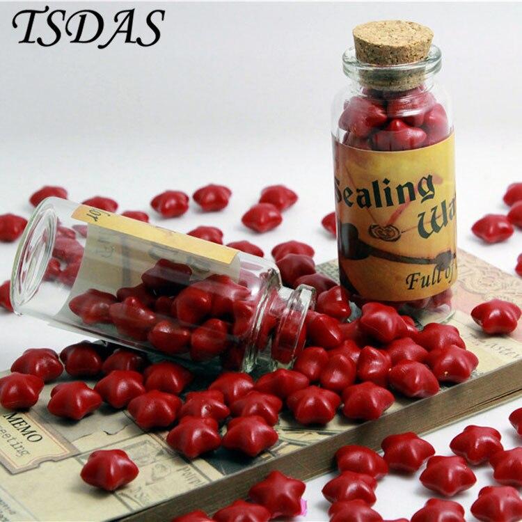 Free Shipping One Bottle Red Color Optional Vintage Sealing Wax Granule For Wedding Envelope саундбар dali kubik one red
