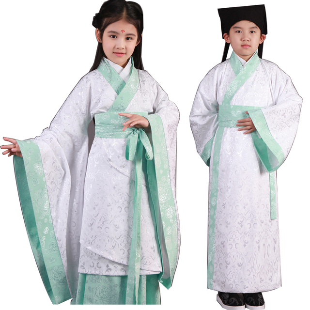 422778d8446b Classical Girls Traditional Chinese Folk Dance Costume Kids Chinese ...