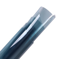 Pencere Tonu Filmi Mavi VLT % 65% 5FTX100FT/1.52 M X 30 M Rulo 2 KAT Araba Oto Ev Ticari toptan Fiyat UV6590