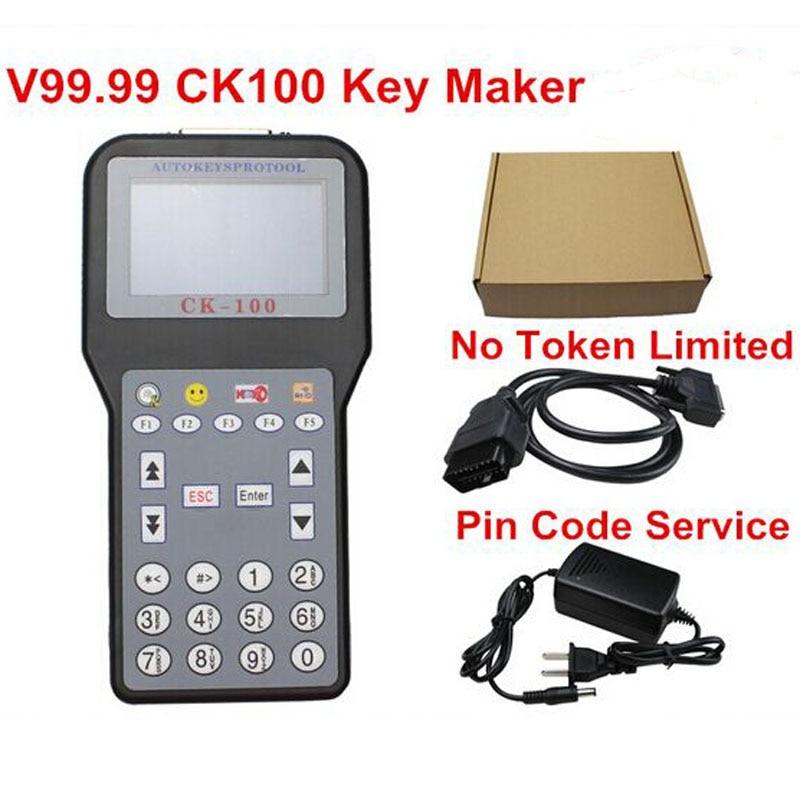 Newest V99.99 CK-100 CK100 Auto Key Programmer NO Tokens CK100 Key Programmer CK 100 Programmer SBB Update Version