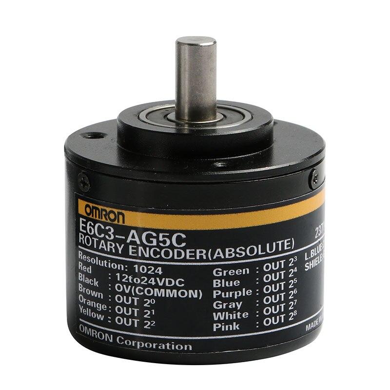 E6C3 AG5B E6C3 AG5C 256P 360P 1024P 720P Encoder Absolute Angle Encoder