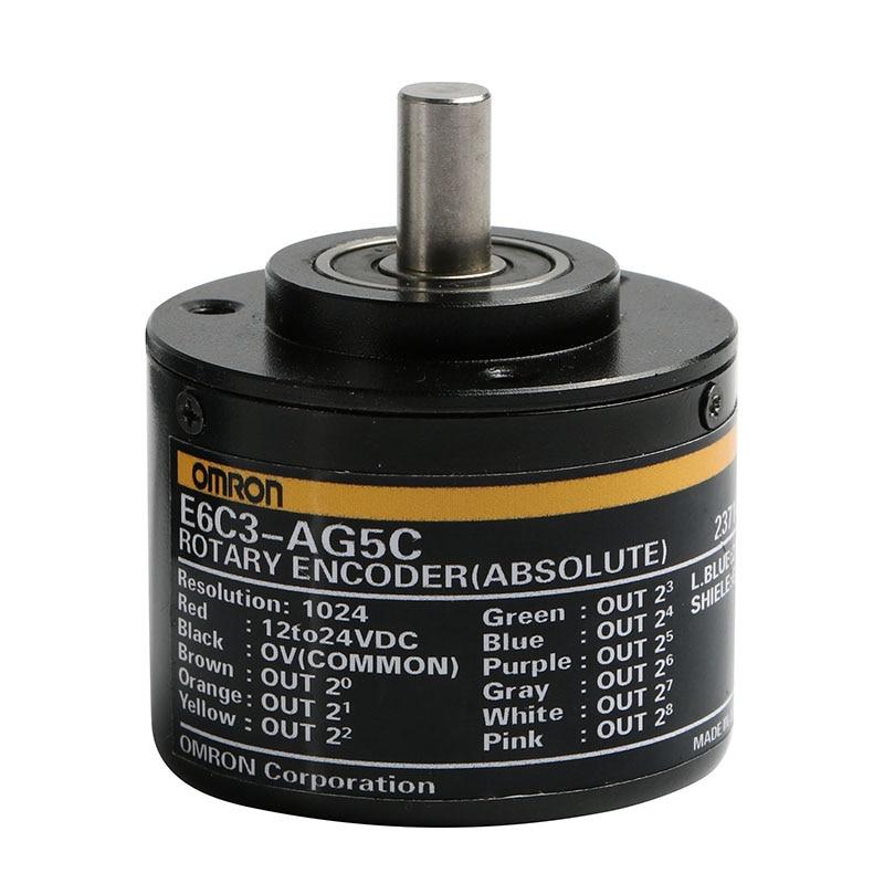 E6C3-AG5B E6C3-AG5C 256P 360P 1024P 720P Encoder Absolute Angle Encoder