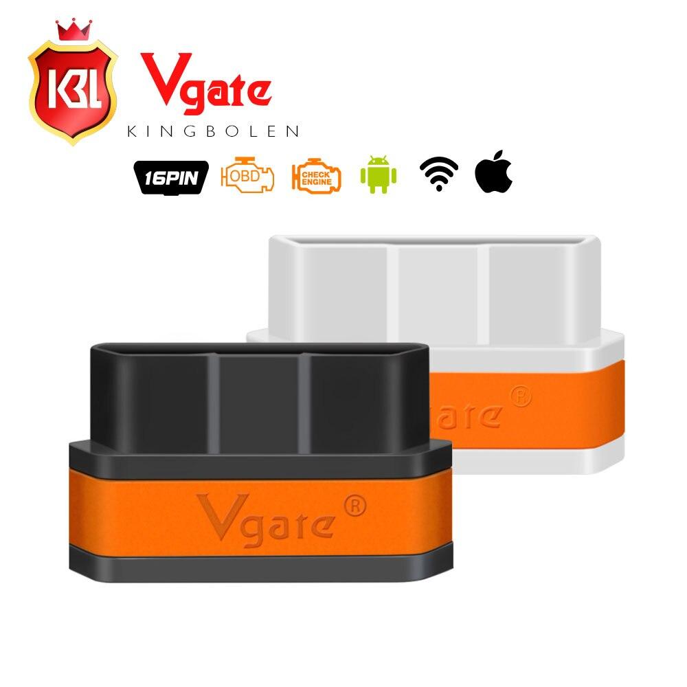 Prix pour Haute Qualité Vgate iCar2 ELM327 Wifi OBD2 Outil De Diagnostic pour IOS iphone ipad android vgate icar wifi elm 327 avec livraison gratuite