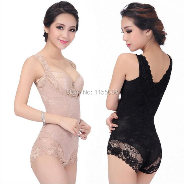 Nice Lace Lady Sexy Corset Slimming Suit Shapewear Body Shaper Magic Underwear Bra Up New