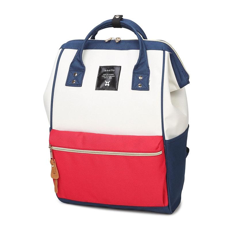 ФОТО Women's canvas backpack Japan and Korean casual style women backpacks  school bag womens travel bag female mochila bag
