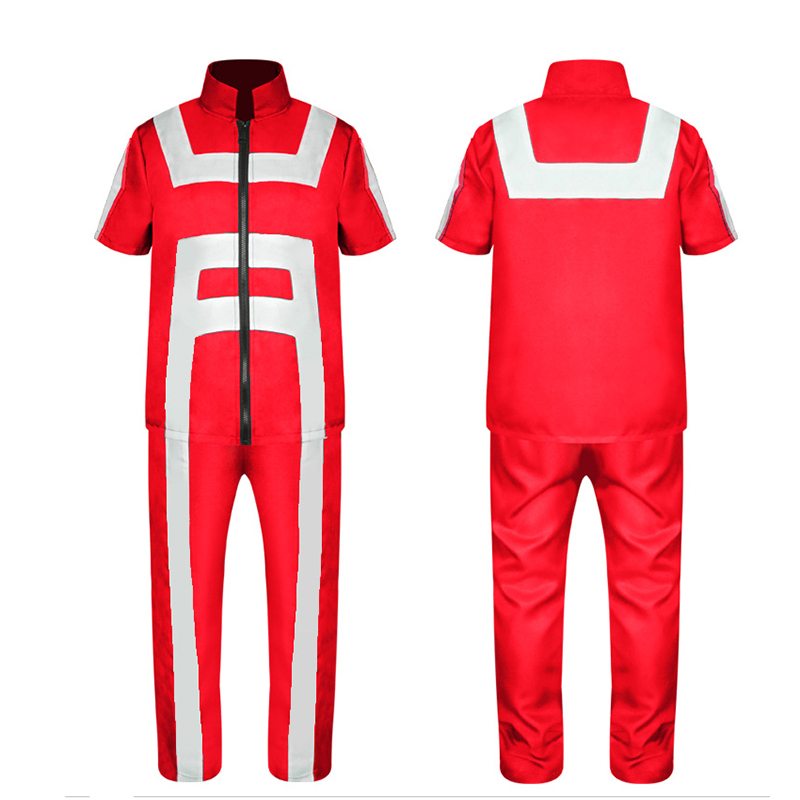 Anime Boku no Hero Academia My Hero Academia All Roles Gym Suit High School Uniform Sports Wear Multicolors Cosplay Costume