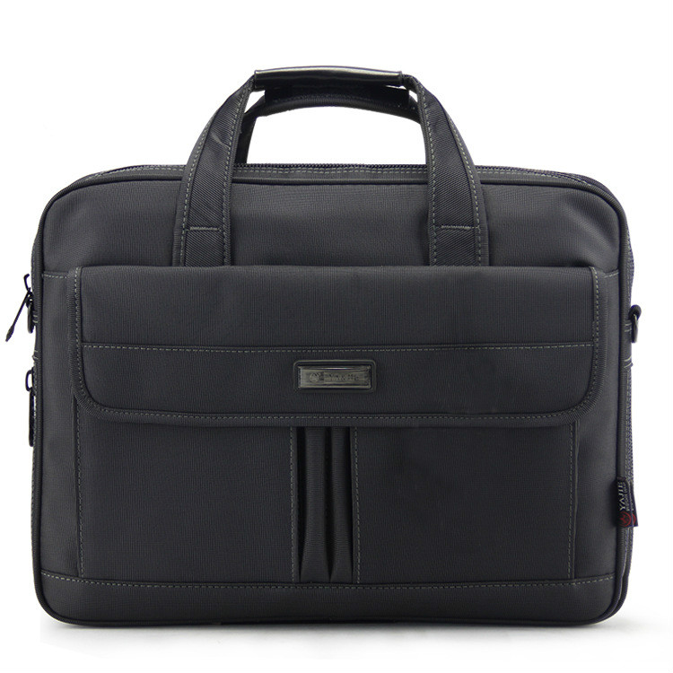 High Quality 16 Inches Men's Briefcase Business Large Briefcases Waterproof Extensible Business Computer Bag Men Laptop Handbags