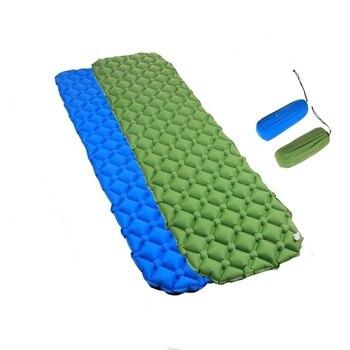 Outdoor Ultralight Camping Mat TPU Inflatable Mattress Air Mattress Sleeping Pad Airbed Inflatable Bed Folding Bed Air Cusion roupas da moda masculina 2019