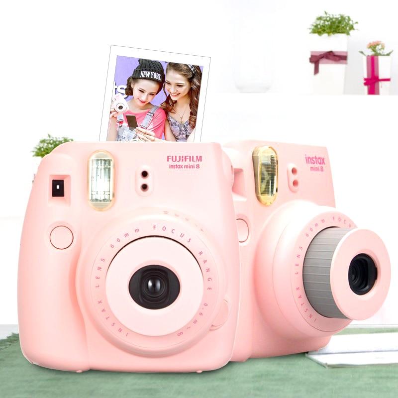 Fujifilm Instax Mini 8 Instant Film Camera + Transparent Plastic ...