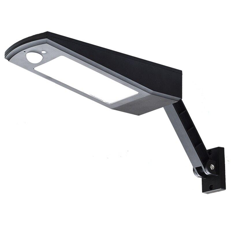 48 LED Solar Powered 4500mAh Auto PIR Motion Sensor Garden Fence Patio Wall Lamp For Outdoor Waterproof Lighting