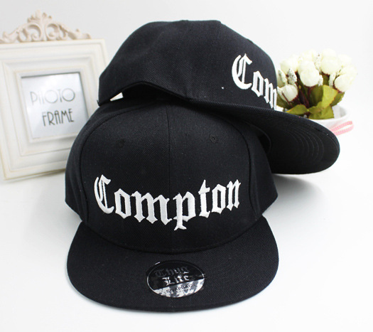 Prix pour Meilleure Plage Ouest Gangsta Ville Crip N.W.A Eazy-E Compton Planche À Roulettes de Relance Chapeau Hiphop De Mode Casquettes de Baseball Plat-bord Cap