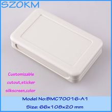 1 piece free shipping electronic case plastic box project electronic plastic box case electronic project  66x108x20 mm