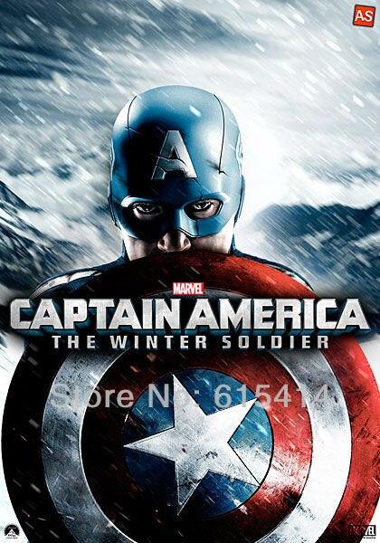 12 Captain America movie 24''x34'' Inch Wallpapr Sticker Poster