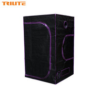 TRILITE High Quality 120x120x200cm Hydroponic Greenhouse Mylar large Grow Tent For Garden Greenhouse for Indoor Plant Growing