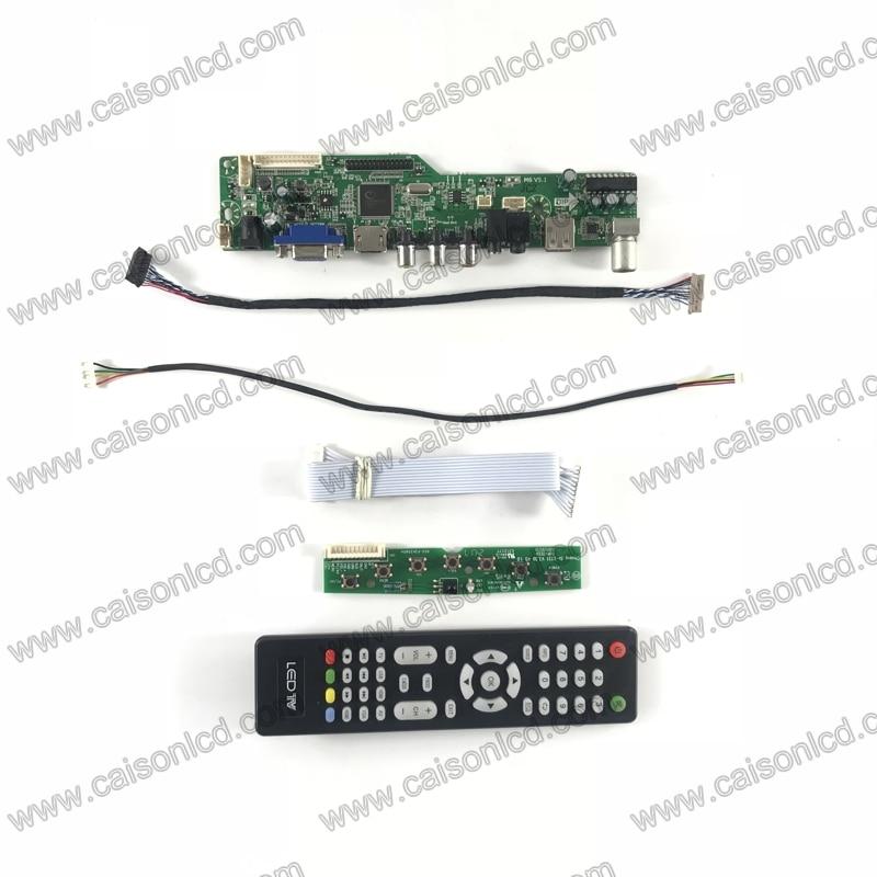 M6-V5.1 LCD TV controller board support HDMI VGA AUDIO AV USB TV for 12.1 inch 800x600  G121SN01 V4  TM121SDSG05 NLB121SV01L-01 кухонная мойка ukinox stm 800 600 20 6