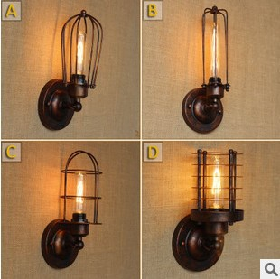 Industrial Wall Lamp Vintage Lights For Home In America Country Loft Style Edison Wall Sconce,Arandela Lamparas De Pared купить