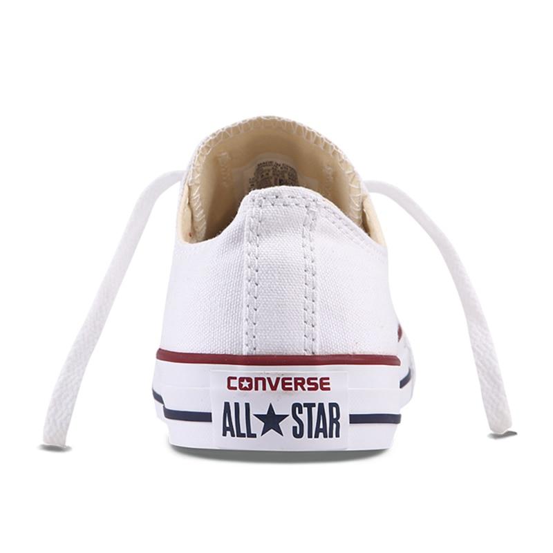 Authentique Converse ALL STAR classique respirant toile bas-Top chaussures de skate unisexe Anti-glissant baskets pour jeunes hommes - 5