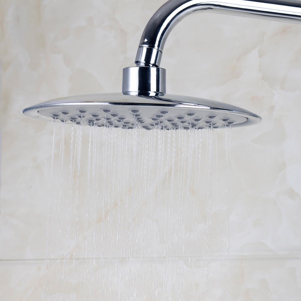 popular modern bath taps buy cheap modern bath taps lots from new modern bathroom faucet chrome polished shower set hot cold mixers taps wall mounted rainfall shower faucets
