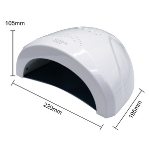 Image 5 - 48W UVหลอดไฟเครื่องเป่าเล็บ 28 LEDs 5S 30S 60Sแห้งเล็บมือและเล็บgel Curing Nail Artทำเล็บมือSunone