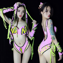 Women Sexy Singer DJ DS Night Club Bar Stage Show Dance Wear Costumes